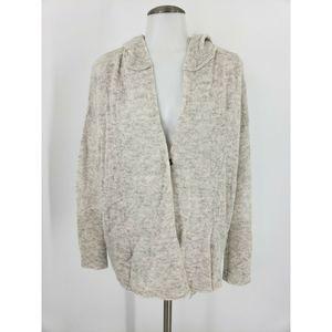 Moth Anthropologie Cardigan Sweater Button Hood